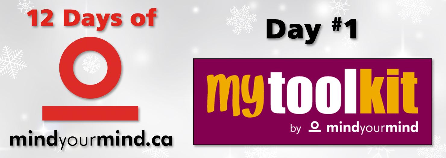 The 12 Days of mindyourmind: Day 1 - myToolKit