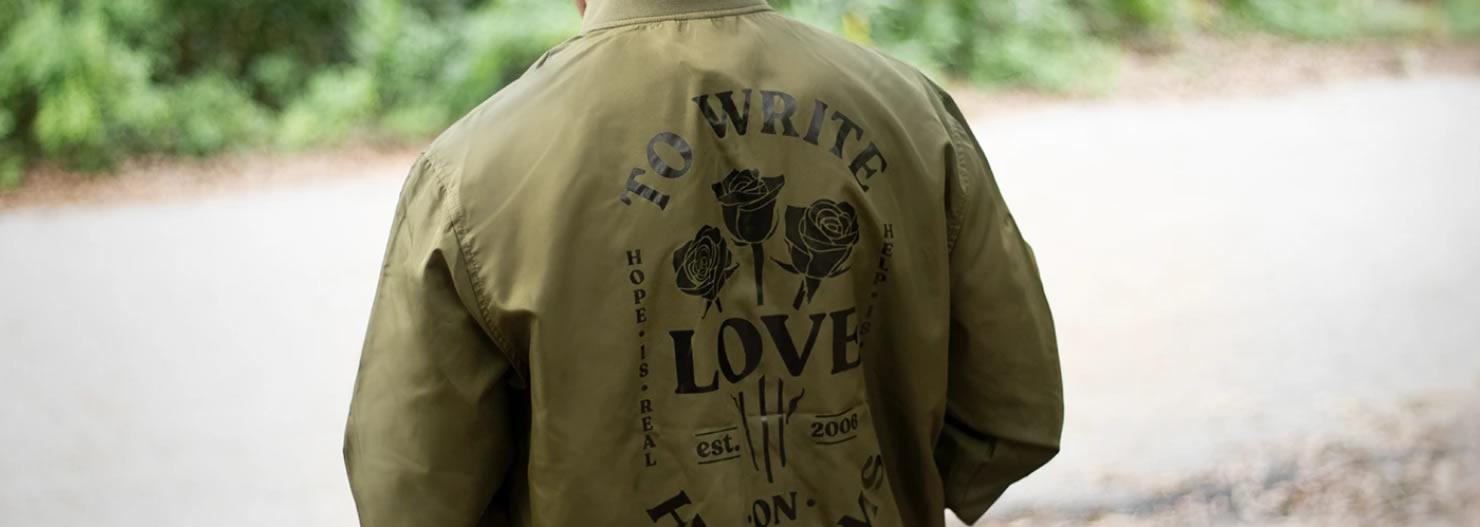 Screenshot of twloha.com: To Write Love on Her Arms